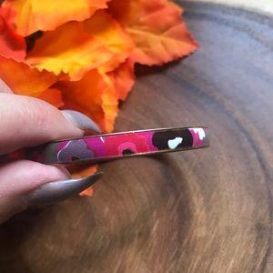 J Crew Floral Bangle Bracelet